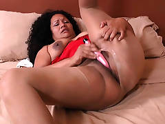 These nylon crazed Latina milfs know how to play