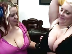 Buxom and Scarlet at Lesbian Lush Women