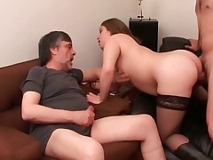 Obese chick enjoys in hot grout fucking part2